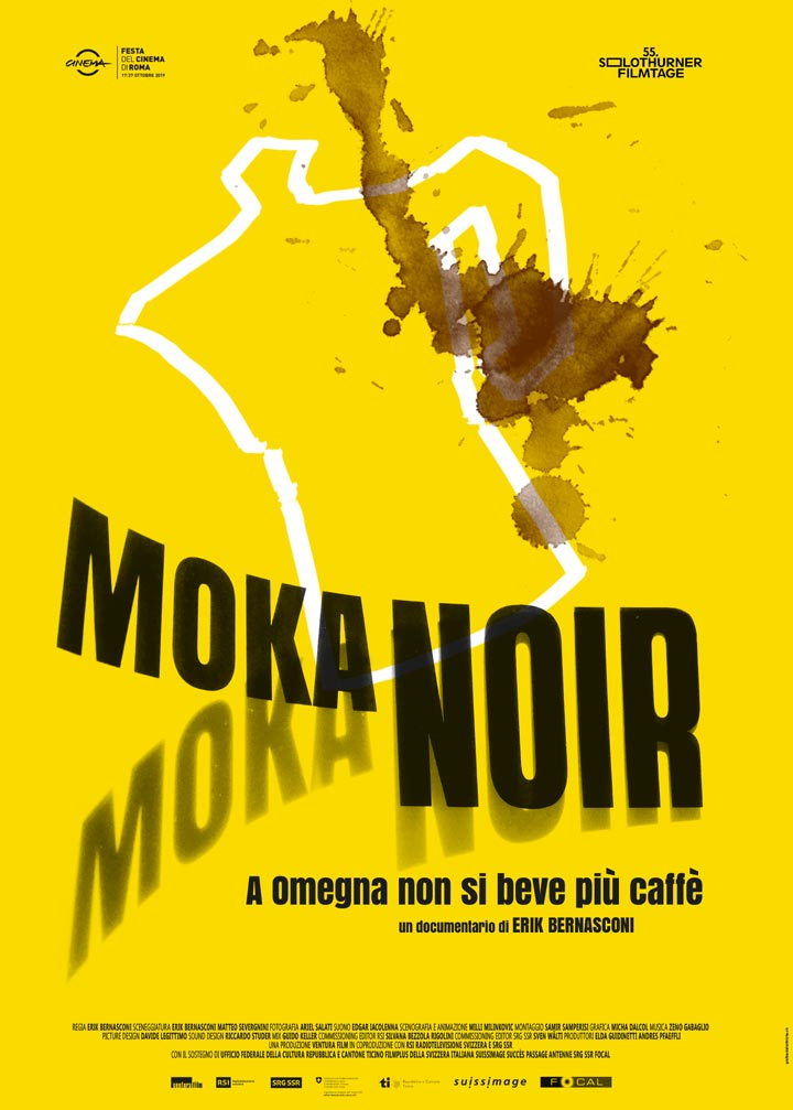 MOKA NOIR: A OMEGNA NON SI BEVE PIÙ CAFFÈ by Erik Bernasconi | Ventura Film SA